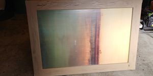 Large wall art from Z Gallerie, 6' x 4' for Sale in Alpharetta, GA