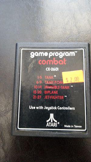 Atari Combat Game Cartridge for Sale in Los Angeles, CA