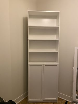 IKEA BOOK SHELF WITH SHELVES WHITE for Sale in Hanover, MD