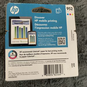 HP 952 Ink for Sale in Victorville, CA