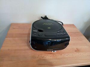 Sony DREAM MACHINE FM/AM CD CLOCK RADIO I CF-CD815 CD-R/RW PLAYER for Sale in Warren, MI