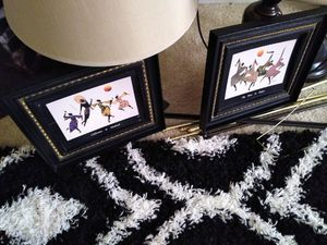 2 Small African Pics..$10 both for Sale in Chesapeake, VA