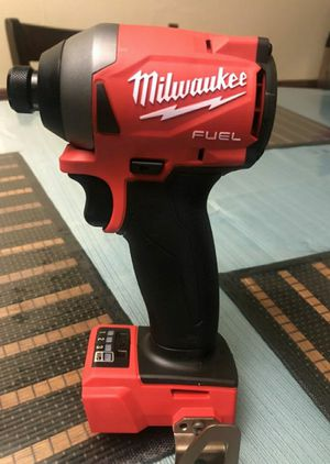 Milwaukee M18 FUEL 18-Volt Lithium-Ion Brushless Cordless 1/4 in. Hex Impact Driver (Tool-Only) for Sale in Chula Vista, CA