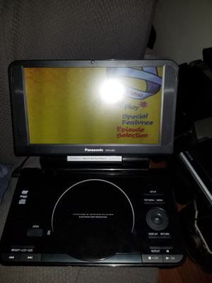 Portable dvd player rechargeable in great shape for Sale in Henderson, NV