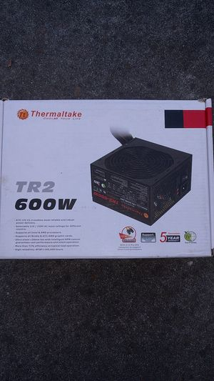 New computer power supply Thermaltake TR2 600w for Sale in San Leandro, CA