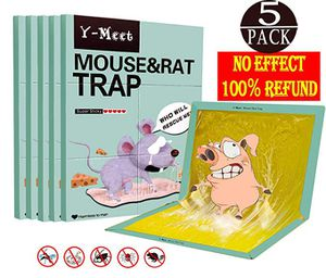 Mouse Glue Traps,5-Pack Extra Large Mouse Glue Boards,Scent Free Non-Poisonous Super Sticky Rat Glue Trap,Suitable for Rat and Mice and Household Pes for Sale for sale  Brooklyn, NY