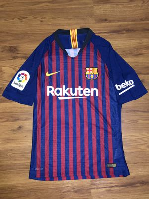 Authentic Nike Vaporknit FC Barcelona 18/19 Messi Jersey for Sale in Fresno, CA