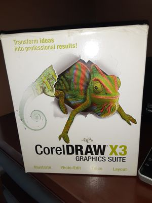 CorelDraw X3 graphics suite complete new for Sale in Pembroke Pines, FL