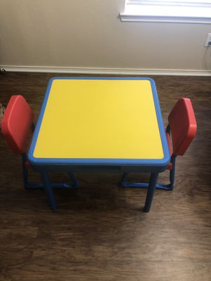 Vintage Fisher Price Kid's Table and Chairs Set for Sale in Burleson, TX