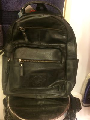 Rawlings genuine leather medium black backpack for Sale in Overland, MO