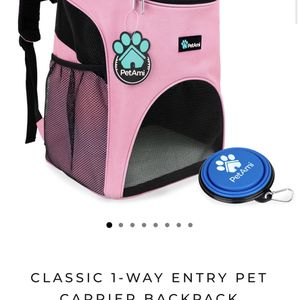 Pet Carrier Backpack (pink) for Sale in Los Angeles, CA