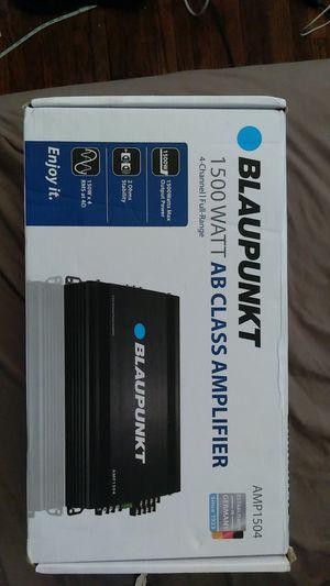 Blaupunkt 1500 watts 4 Channel Amplifier for Sale in Temple, PA