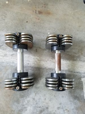 Dumbell weight set for Sale in Miami, FL