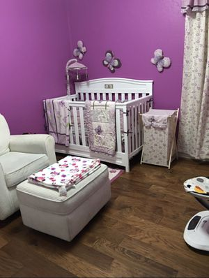 Cocalo Sugar Plumb Crib Bedding For Sale In San Antonio Tx Offerup
