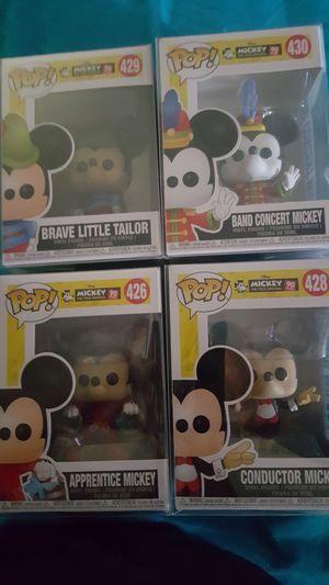 Mickey mouse funko pops for Sale in San Bernardino, CA