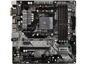 Asrock B450M Pro4 AM4 (AMD) Motherboard for Sale in Crewe, VA