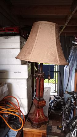 nice decorative table lamp and shade for Sale in Federal Way,  WA