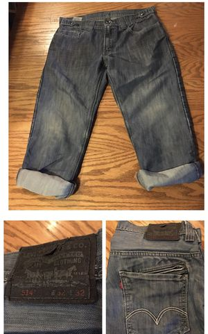 Levi's special edition 514 size 32-32 rolled up for Sale in Portland, OR