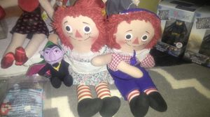 Vintage Raggedy Ann and Andy for Sale in St. Louis, MO