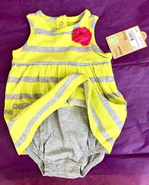 New with tags, CARTERS ROMPER for Sale in Pleasant Hill, OR