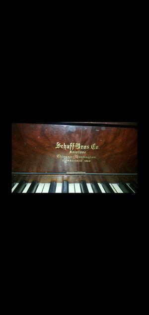 Schaff Bros Solotone Player Piano for Sale in Gibsonia, PA