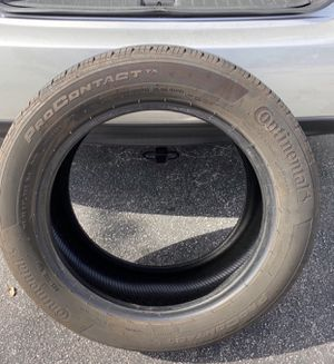 Tire Continental Only One 215/55 R 17 (94H) ContiProContact for Sale in Pembroke Pines, FL