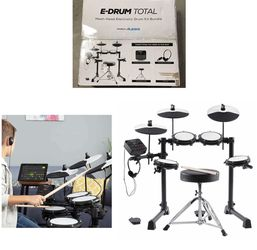 Alesis E-Drum Total Mesh-Head Electronic Drum Kit Bundle for Sale in Stafford,  TX
