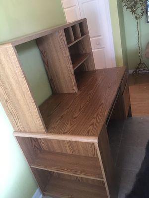 BEDROOM OFFICE WOOD DESK for Sale in Aloma, FL