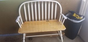 Wood bench for Sale in San Diego, CA