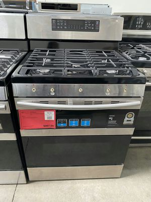 New Samsung Stainless Steel Double Oven Gas Range! 1 Year Warranty Included for Sale in Gilbert, AZ