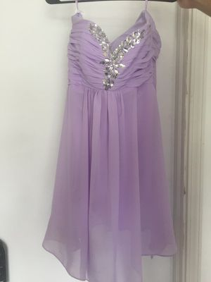 Lavender homecoming dress size 4 for Sale in Bothell, WA
