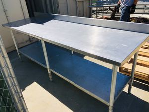 Stainless Steel Commercial Food Prep Tables for Sale in Cupertino, CA