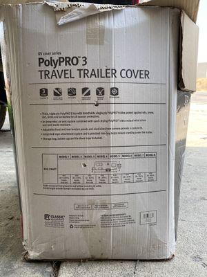 Travel trailer cover for Sale in Salt Lake City, UT