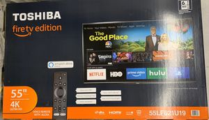 "Toshiba fire tv edition 55"" for Sale in Puyallup, WA"