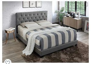 Queen Bed Frame (New) for Sale in Charlotte, NC