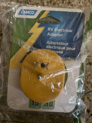 Camco RV Electrical Adapter for Sale in Redmond, WA
