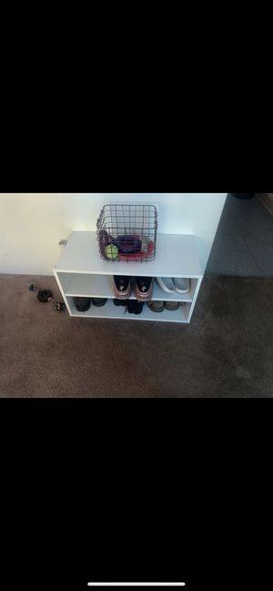 small shoe shelf for Sale in Waipahu, HI
