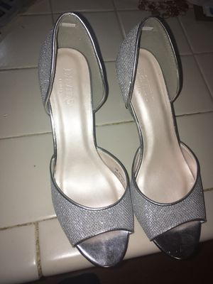 Peep Toe D'Orsay Glitter Heel size 8m for Sale in Bowie, MD