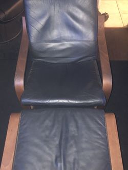 IKEA Poang Chair + Ottoman & Large Coffee Table for Sale in San Diego,  CA