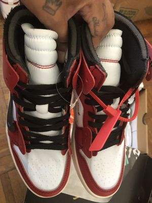 OffWhite x Jordan 1 Retro Hi OG Chicago for Sale in Jersey City, NJ