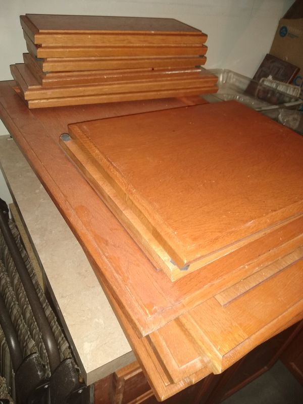 Oak cabinet doors