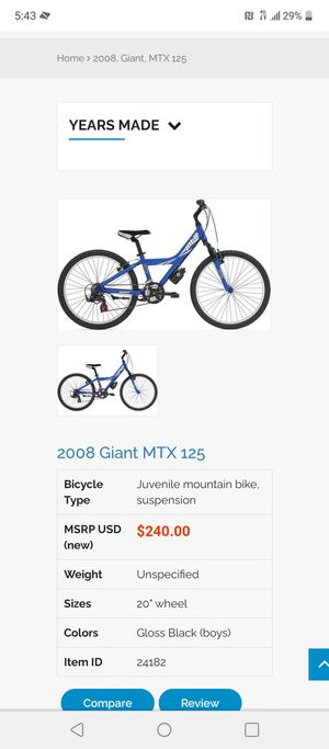Mtx Giant boy bike for Sale in Fort Worth, TX
