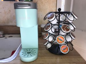 Keurig Turquoise K-Mini Single Serve Coffee Maker for Sale in Los Angeles, CA