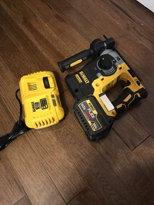 Dewalt rotary hammer drill XR end battery charger new never used for Sale in Silver Spring, MD