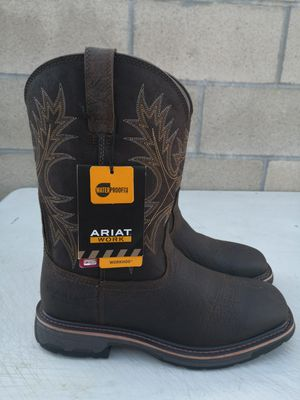 Brand new ariat Soft toe boots size 10EE for Sale in Riverside, CA
