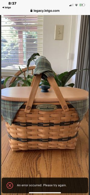 "Longaberger Basket ""1997"" Edition for Sale in Danville, CA"