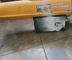Dayton propane heater 150,000 btu for Sale in Savannah, GA