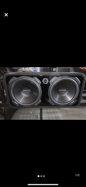 2, 12' Subwoofers, Kenwood. for Sale in Commerce City, CO