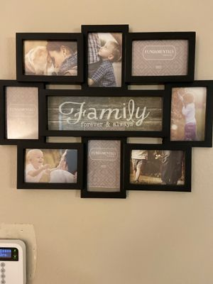 Family multiple picture frame for Sale in Chula Vista, CA
