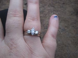 White gold diamond ring for Sale in Farmville, VA